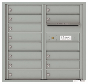 8 Door High Front Loading 4C Mailboxes