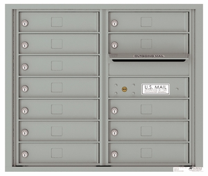 7 Door High Front Loading 4C Mailboxes (26-3/4 in. High)