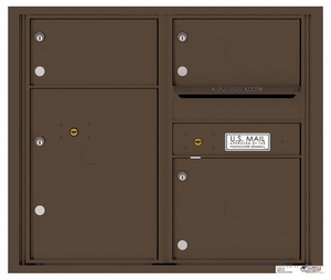 7 Door High Rear Loading 4C Mailboxes