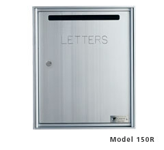 Horizontal Collection Box / Drop Box - Rear Loading - Fully Recessed