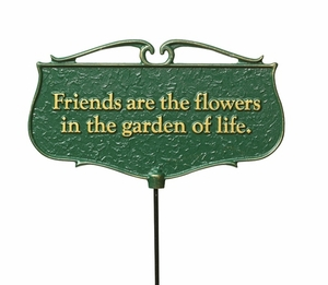 Garden Accents Garden Poem Signs
