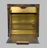 Gateway Brass Recessed Locking Mailbox