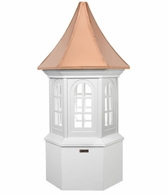 "Georgetown Vinyl Cupola - 26"" Sq. X 59"" High"