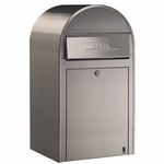 USPS Bobi Grande Front Access Stainless Mailbox