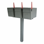 Triple Mailbox Post Packages