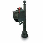 Green 1812 Beaumont Mailbox System