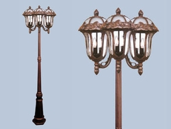 Hampton Large Tri Lighting Fixture