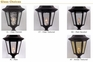 Floral Medium Tri Light Post Lantern Set Lighting Fixture