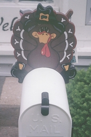 HOLIDAYS - Turkey Mailbox Topper