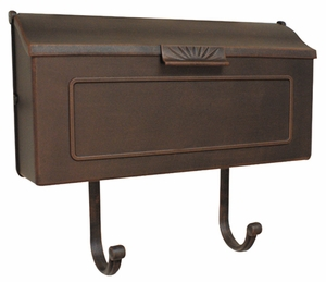 Horizon Horizontal Wall Mount Mailbox
