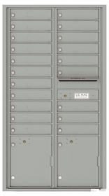 Max. Height Front Loading 4C Mailboxes (56-1/2  in. High)