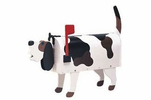 Hound Dog Novelty Mailbox