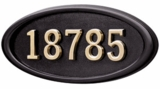 Brass Address Plaques