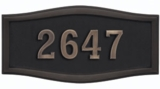 Housemark Roundtangle Address Plaques