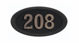 Housemark Oval Address Plaques - Small