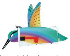 Hummingbird Novelty Mailbox