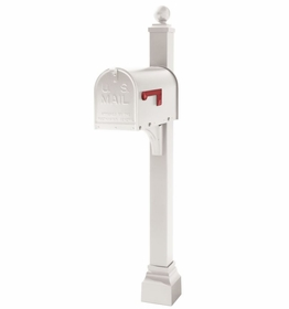 Janzer Mailbox Post Only (Mailbox Options Available)