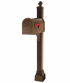 Janzer Configurable Mailbox & Post Combos