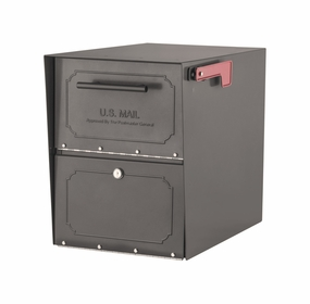 Oasis Classic Locking Curbside Mailbox (11.5 in.W x 18 in.D x 15 in.H)