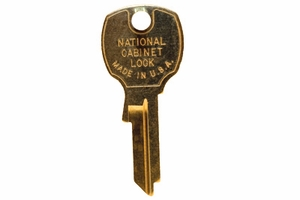 Key Blank Compx/National for K91910 Lock w/ Codes 1000Ps-1999Ps Or 3000Ps-3999Ps