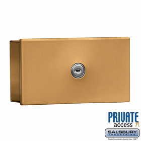 Salsbury 1080BP Key Keeper Brass - Surface Mounted - Private Access