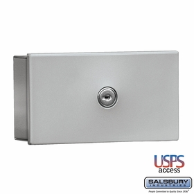 Salsbury 1080AU Key Keeper Surface Mounted Aluminum Finish USPS Access