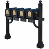 Keystone Eagle Quad Deluxe Multi-Mount Mailbox Post (Mailboxes not included)