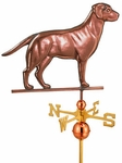 "Labrador Retriever Full Size Weathervane - 23""L x 17""H"