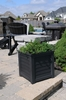 Lakeland Patio Planter 20 x 20 Black