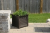 Lakeland Patio Planter 20 x 20 Espresso