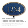 Salsbury 1430CGNL Signature Series Address Plaque