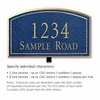 Salsbury 1420CGNL Signature Series Address Plaque