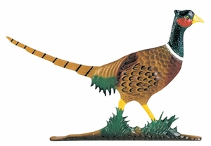 Whitehall Large Bell with Pheasant Ornament (Life-Like MultiColor)