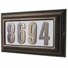 LARGE Lighted Address Plaque (Choose Frame and Numbers)