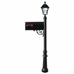 Lewiston Mailbox Package with Solar Lamp