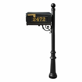 Lewiston Mailbox Package with Vinyl Numbers