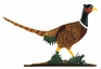 Whitehall Life-Like Multi-Color Pheasant Mailbox Ornament