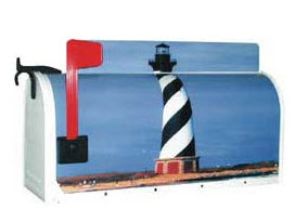 Lighthouse Novelty Mailbox