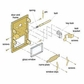Salsbury 2085 Lock Bracket For Brass Mailboxes