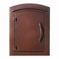 Locking Column Mailbox Antique Copper (stucco column purchased separately)
