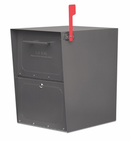 Oasis Full Size Locking Curbside Mailbox (13.5 in.H x 18.5 in. D x 20 in.H)