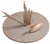 Whitehall Loon Sundial - Copper Verdi