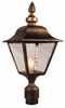 Madison Large Post Lantern Set Lighting Fixture