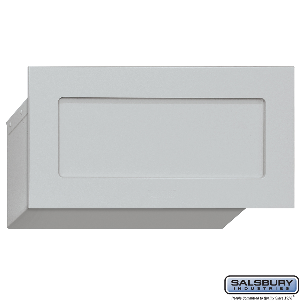 Salsbury Industries 2255alm Mail Drop Aluminum