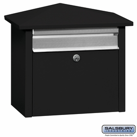 Salsbury 4750BLK Mail House Black