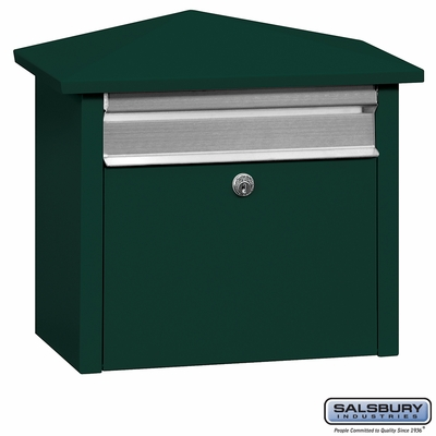 Salsbury 4750GRN Mail House Green