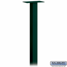 Salsbury 4795GRN Mail House Post In Ground Mounted Green