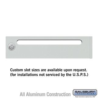 Salsbury 3469 Mail Slot - for 4C Pedestal Mailbox Tenant Door
