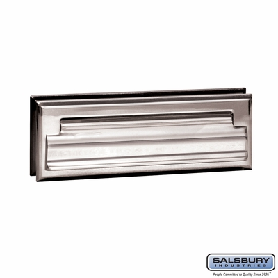 Salsbury 4035C Mail Slot Standard Letter Size Chrome Finish