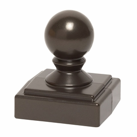 Whitehall Mailbox BALL finial - Bronze